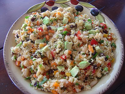 Sweet and Spicy Couscous Salad