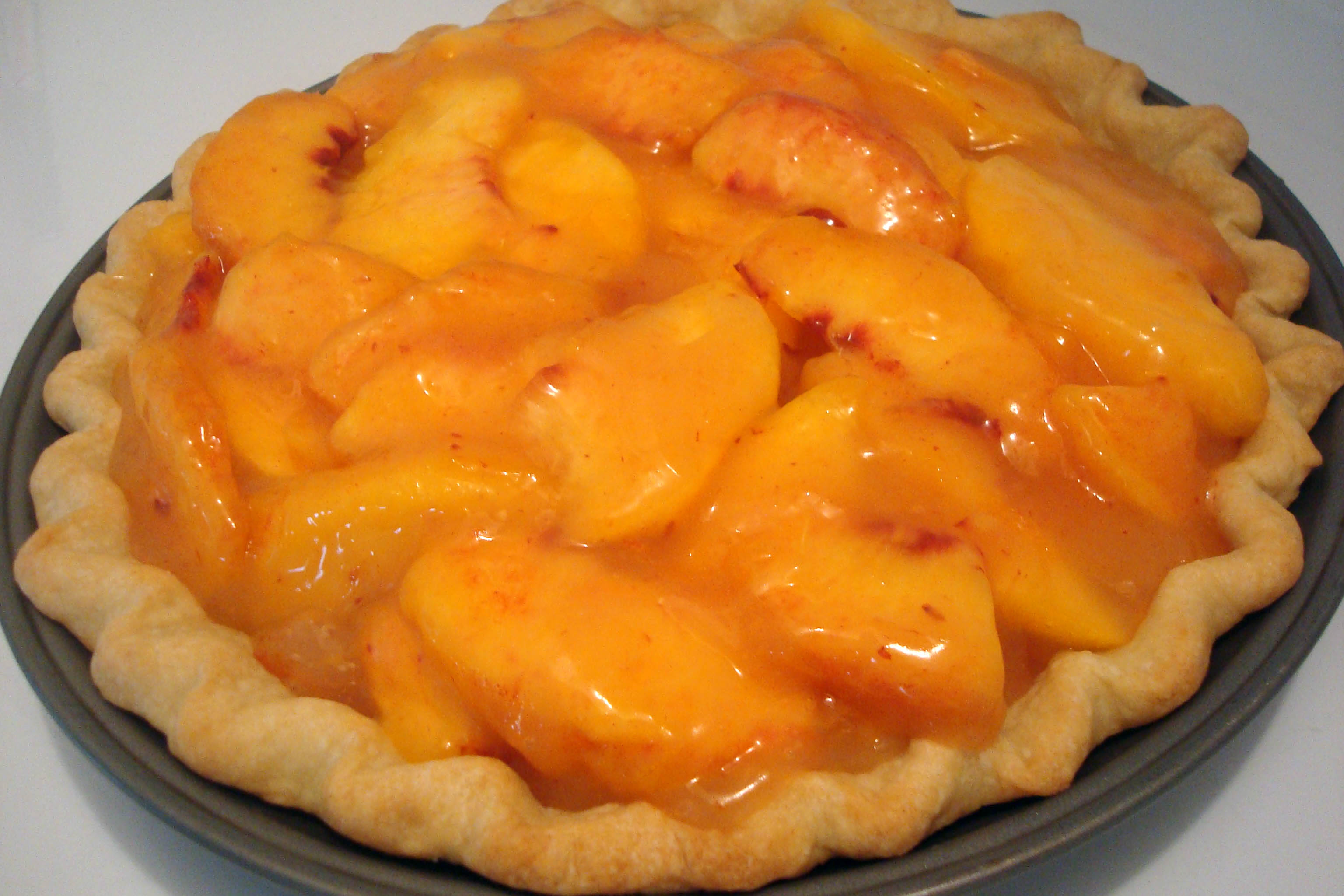 Fresh Peach Pie | The Sisters Cafe
