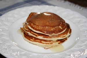 Aunt Katie's Oatmeal Pancakes