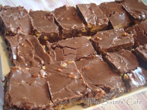 Ooey Gooey Peanut Butter Fudge Brownies