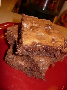 Perfect One Bowl Homemade Brownies