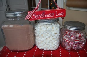 Hot Cocoa Mix and a winner!