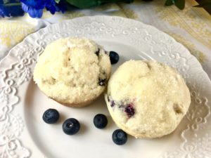 Grandma's Famous Blueberry Lemon Muffins