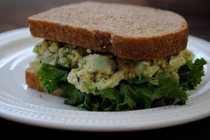 Favorite Egg Salad Sandwich