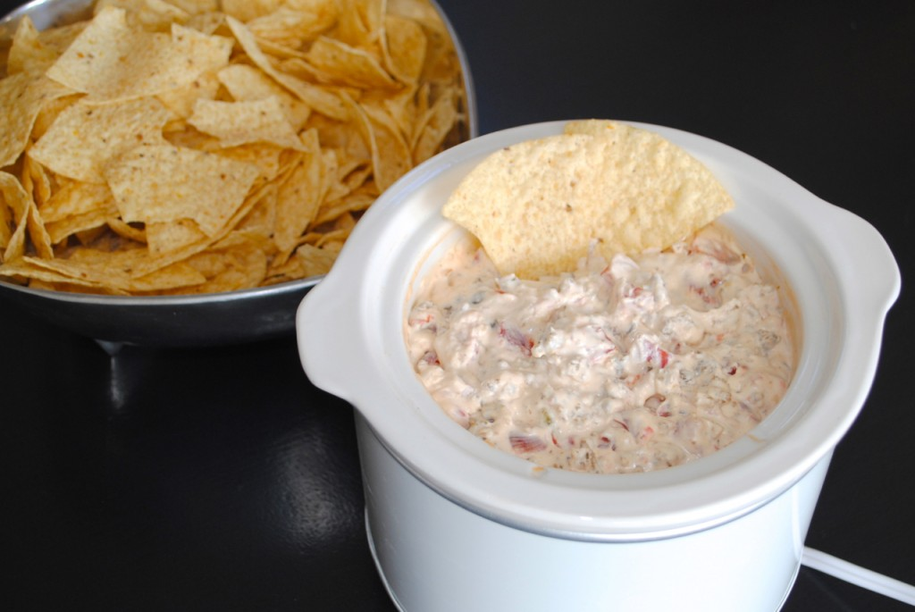 Sausage, Rotel and Cream Cheese Dip