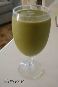 Frog Nog (True Green Smoothie Recipe)