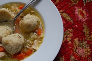 Snowball (Matzo Ball) Soup