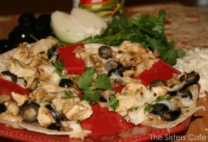 Chicken Enchilada 'Pizzas'