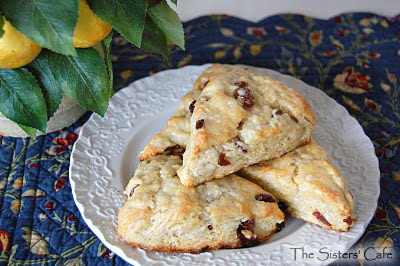 Cherry Lemon Scones