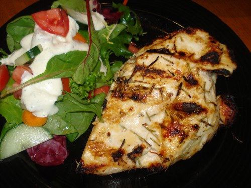 Grilled Chicken Breasts With Buttermilk Marinade Recipe — Dishmaps