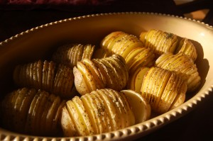 Hasselback (Accordian) Potatoes
