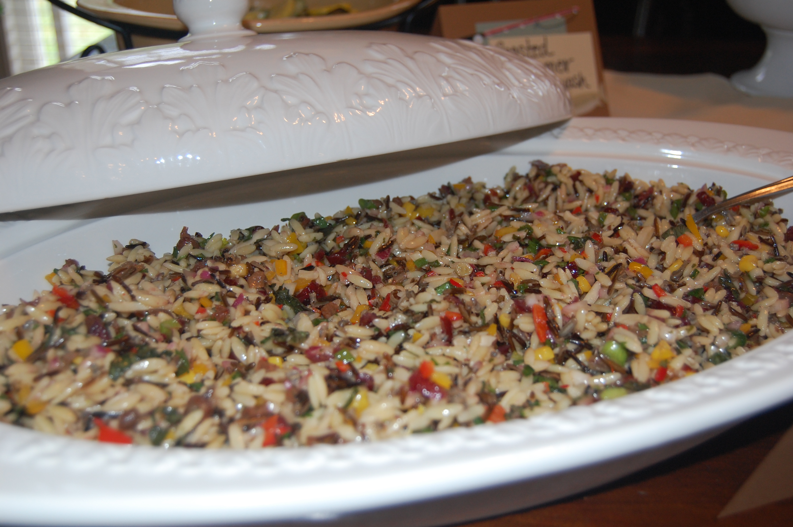 J alexander s orzo and wild rice salad for Alexander s greek cuisine