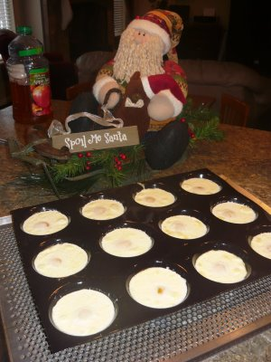 Christmas Cream Eggs (family tradition)