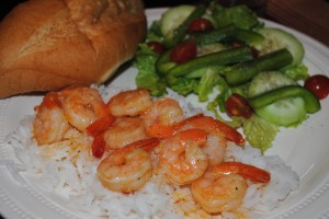 Garlic Orange Shrimp
