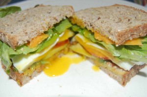 Spanglish Inspired Sandwich