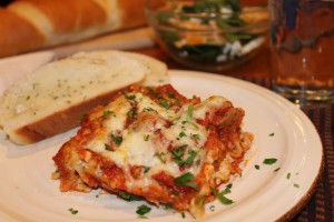 it's-a-keeper lasagna recipe