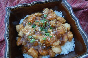 Orange Chicken (like Panda Express)