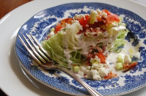 The Steakhouse Wedge Salad
