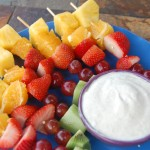 Sugar and Spice  Fruit Dip