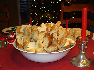 Served in Bread Crowns for Christ the King