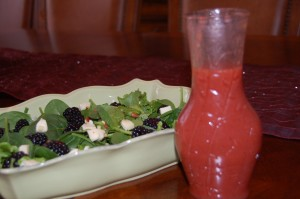 Strawberry Jam Vinaigrette