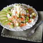 Greek Quinoa with Avocado