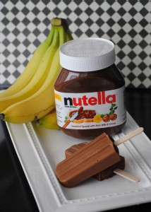 "Nutella Banana ""Ice Cream"""