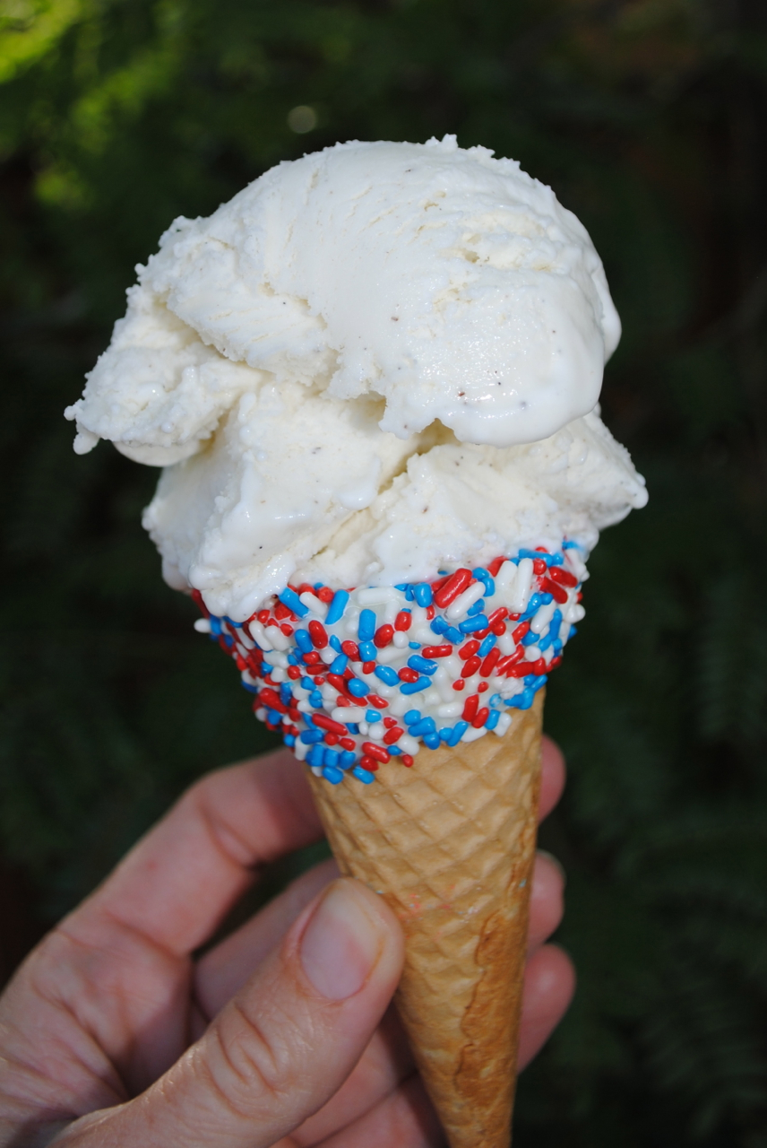 Patriotic Dipped Cones