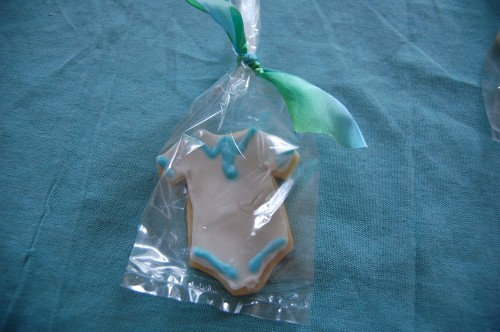 Baby Onesie Sugar Cookie 2