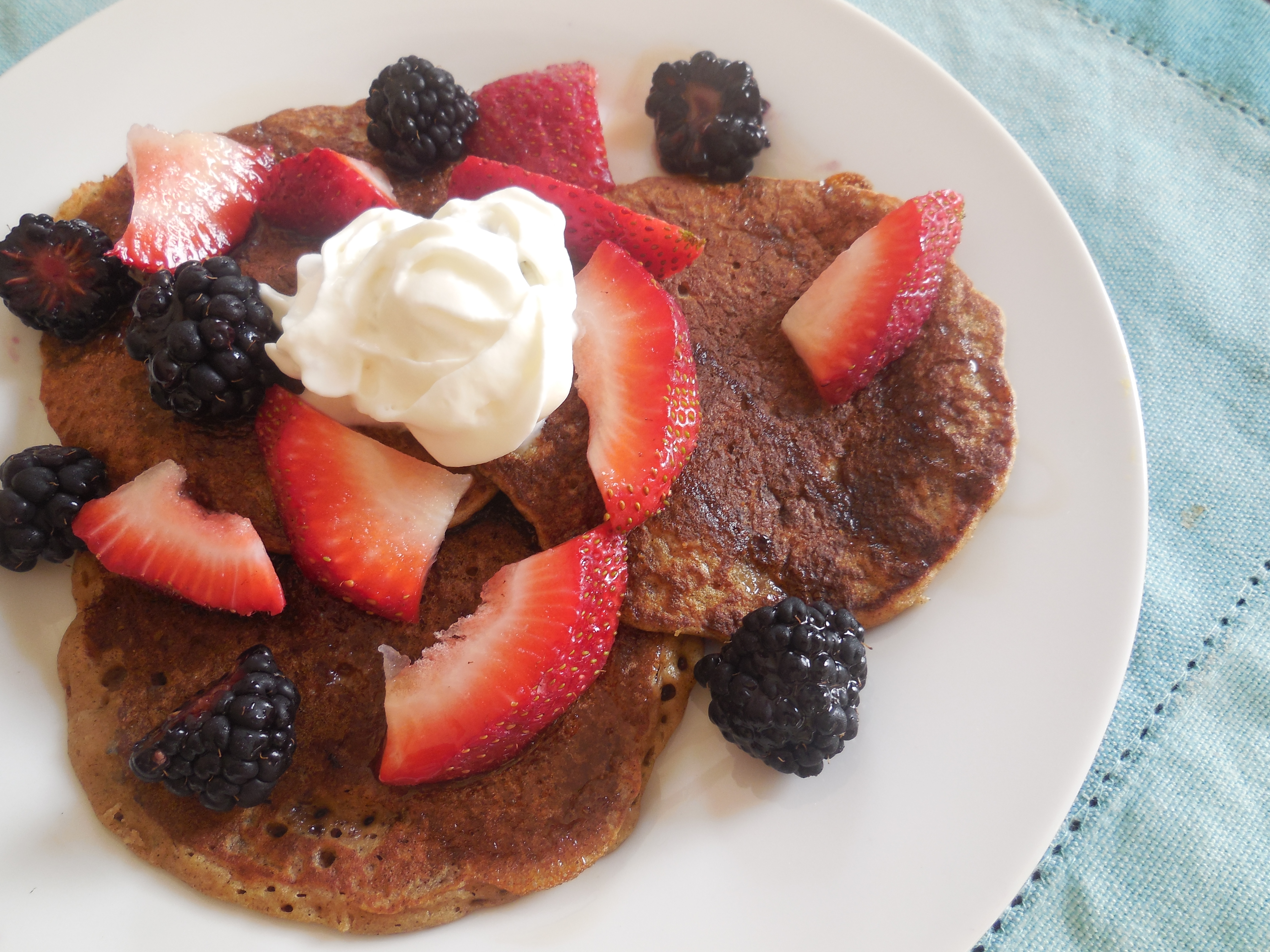 Banana Oat Pancakes (*Gluten free ) | The Sisters Cafe