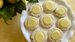 lemon melt away cookies