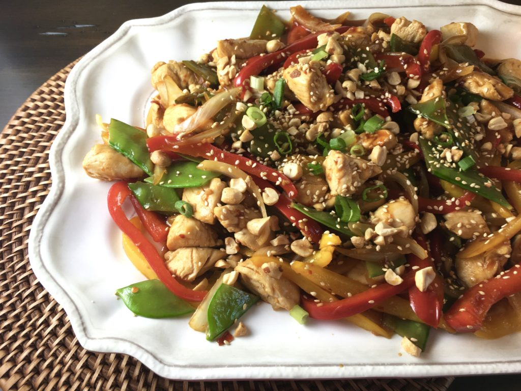 szechuan chicken stir-fry 1