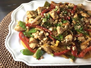 Szechuan Chicken Stir Fry