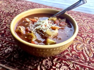 Hearty Vegetable Soup ( aka Cabbage Soup Diet)