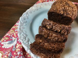 Double Chocolate Zucchini Bread (with Gluten Free Variation)