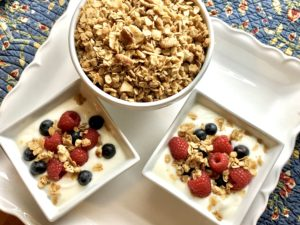 Toasted Coconut Pecan Granola