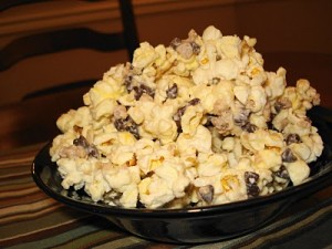 Double Chocolate Toffe Popcorn