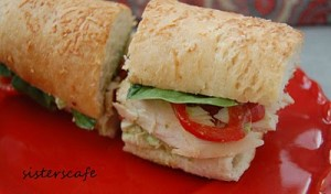 Seriously good Chicken Pesto Sandwich