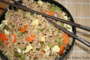 Ham & Vegetable Fried Rice