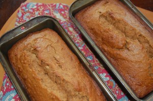 My Favorite Whole Wheat Banana Bread