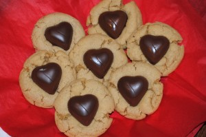 "Sweet ""Heart"" Peanut Blossoms"