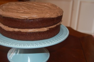 Classic Chocolate Cake {not from a box}