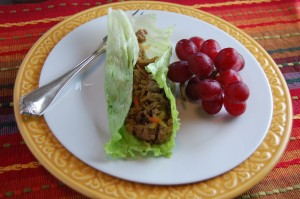 Asian Lettuce Wraps -quick and easy