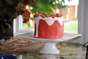 Fresh Watermelon Cake {Literally}