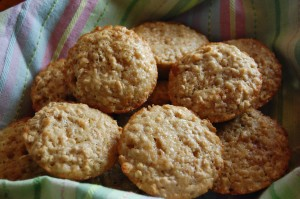 Oatmeal and Brown Sugar Muffins