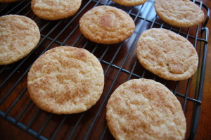 The Best Snickerdoodles (all butter)