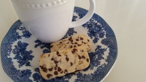 Pecan and Chocolate Chip Shortbread Cookies