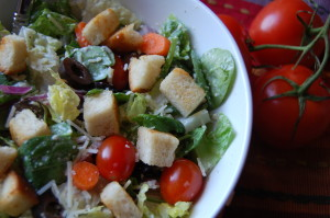 My version of the famous Olive Gardens Salad