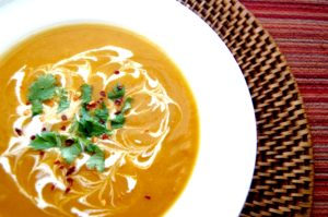 Thai Curry Butternut Soup