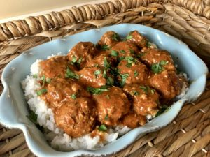 Thai Curry Turkey Meatballs